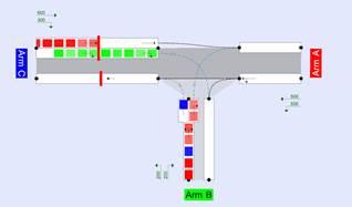 Simulacion pista picady