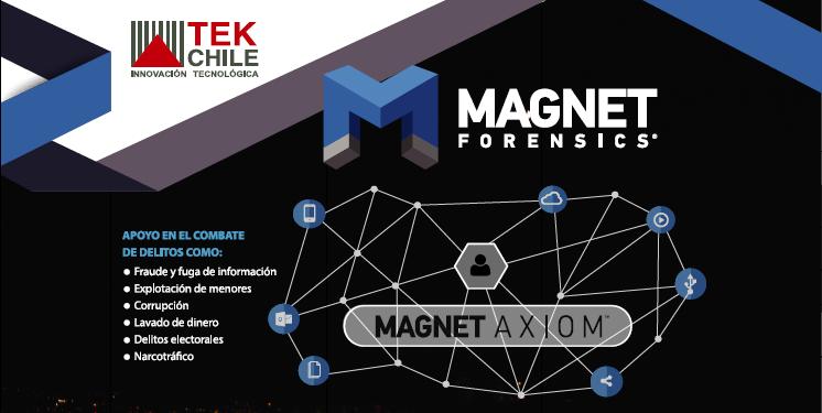 TEK Chile y Magnet Forensics se hacen presente en el mes de la Ciberseguridad