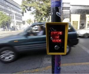 Botonera peatonal
